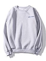 cheap -Men's Sweatshirt - Solid, Print