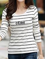 economico -T-shirt Per donna Basic, A strisce