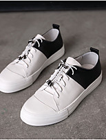 cheap -Men's Shoes Nappa Leather Spring Fall Comfort Sneakers for Casual Outdoor White