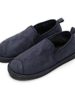 cheap -Men's Shoes Nubuck leather Winter Snow Boots Loafers & Slip-Ons Booties/Ankle Boots for Casual Black Dark Blue Camel