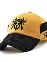 cheap -Unisex Vintage Casual Cotton Ski Hat Baseball Cap - Color Block, Basic