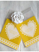 cheap -Square Shape Plastic Favor Holder with Pattern / Print Sweetheart Favor Bags - 1set