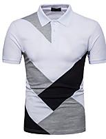 cheap -Men's Active Slim Polo - Color Block