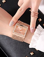 cheap -Women's Dress Watch Fashion Watch Chinese Quartz Casual Watch Alloy Band Fashion Silver Gold Rose Gold