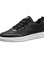 cheap -Men's Shoes PU Spring Fall Light Soles Sneakers for Casual Black Black/White White/Green