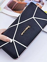 cheap -Women's Bags PU Wallet Zipper for Casual All Seasons Gold Black