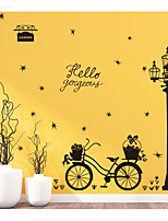 abordables -Abstracto Naturaleza muerta Pegatinas de pared Calcomanías de Aviones para Pared Calcomanías Decorativas de Pared, Papel Decoración