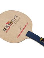 economico -DHS® Hurricane H-WH FL Ping-pong Racchette Indossabile Duraturo di legno Fibra di carbonio EGS 5-Ply 1