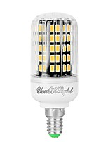abordables -YouOKLight 1pc 7W 560 lm E12 Ampoules Maïs LED 108 diodes électroluminescentes SMD 5733 Décorative Blanc Chaud 110-130V