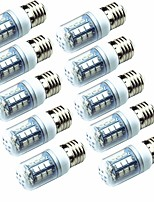 Недорогие -10 шт. 3.5W 250 lm E14 E26/E27 LED лампы типа Корн T 26 светодиоды SMD 5050 Зеленый 220-240V