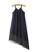 abordables -Tee-shirt Femme,Couleur Pleine A Bretelles