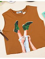 abordables -Tee-shirt Femme,Imprimé Rétro