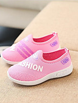 cheap -Girls' Boys' Shoes Tulle Spring Fall Comfort Athletic Shoes Running Shoes for Athletic Casual Black Gray Pink