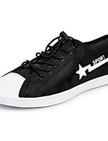 Недорогие -Муж. обувь Деним Весна Осень Удобная обувь Кеды для Повседневные Черный