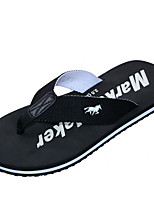 cheap -Ordinary Slippers Men's Slippers Polyester Tulle solid color