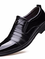 cheap -Men's Shoes Cowhide Spring Fall Comfort Oxfords for Casual Black Brown