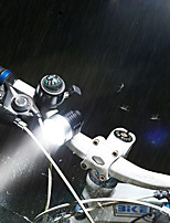 cheap -Rear Bike Light Front Bike Light LED LED Cycling Easy to Install With Switch(es) Rechargeable Li-Ion Battery 800lm Lumens Rechargeable