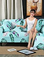 baratos -Moderna 100% Jacquard Poliéster Cobertura de Cadeira de Casal, Simples Plantas Estampado Capas de Sofa