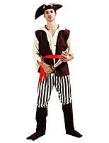 preiswerte -Piraten der Karibik Austattungen Herrn Damen Halloween Karneval Tag der Toten Erster April Maskerade Valentinstag Geburtstag Silvester