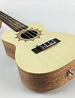 cheap -Ukulele Sounds Music Artistic 4 Musical Instruments