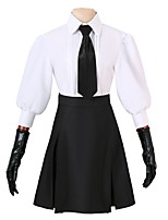 cheap -Inspired by Bungo Stray Dogs Cosplay Anime Cosplay Costumes Cosplay Suits Other Long Sleeves Top Skirt Gloves Tie For Men's Women's