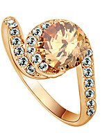 cheap -Women's Band Ring Gold Gold Plated Irregular Bohemian Party Birthday Daily Costume Jewelry