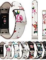 preiswerte -Uhrenarmband für Fitbit Charge 2 Fitbit Lederschlaufe Echtes Leder Handschlaufe