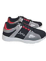 cheap -Men's Shoes Leatherette Winter Comfort Sneakers for Casual Black Red
