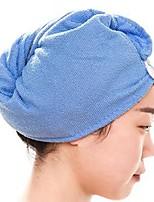 abordables -Style frais Serviette de bain, Couleur Pleine Qualité supérieure Polyester/Coton Etoffe plaine Serviette