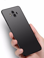 cheap -Case For Huawei Mate 10 pro Mate 10 lite Ultra-thin Back Cover Solid Color Hard Plastic for Mate 10 Mate 10 pro Mate 10 lite Mate 9