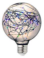 baratos -BRELONG® 1pç 3W 300 lm E26/E27 Lâmpada Redonda LED 125 leds SMD Estrelado Decorativa RGB 220-240V