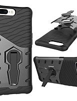 cheap -Case For OnePlus 5 Shockproof with Stand 360° Rotation Back Cover Armor Hard PC for One Plus 5
