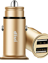 cheap -Car Charger Phone USB Charger USB Multi-Output QC 2.0 2 USB Ports 2.1A DC 12V-24V