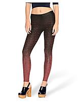 abordables -Femme Basique Legging - Géométrique Taille haute