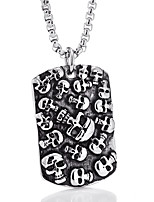 cheap -Men's Pendant Necklace - Casual Fashion Cool Skull Necklace For Daily Street