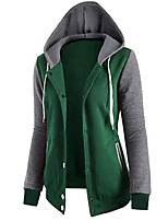 cheap -Men's Sports Hoodie - Color Block, Layered