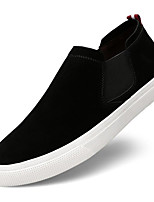 cheap -Men's Shoes Suede Spring Fall Comfort Loafers & Slip-Ons for Casual Black