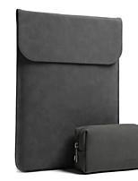 Недорогие -Рукава для Сплошной цвет Кожа PU MacBook Pro, 13 дюймов