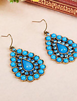 cheap -Belly Dance Latin Dance Ordinary Women's Training Performance Alloy Crystal Detailing Modern Earrings