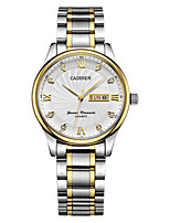 cheap -CADISEN Women's Quartz Dress Watch Fashion Watch Japanese Calendar / date / day Water Resistant / Water Proof Casual Watch Stainless Steel
