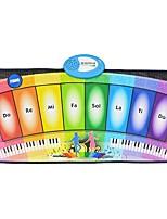 Недорогие -Электронная клавиатура Игрушечные музыкальные инструменты Пианино Музыкальные инструменты Прямоугольная Музыка 1pcs