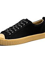 baratos -Homens sapatos Camurça Primavera Outono Conforto Tênis para Casual Ao ar livre Preto Azul Khaki