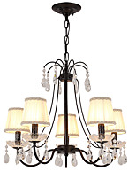 cheap -LightMyself™ Chandelier Pendant Light Ambient Light - Crystal, LED Modern / Contemporary, 110-120V 220-240V Bulb Not Included