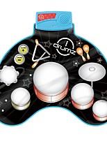 Недорогие -Музыкальная игрушка Игрушечные музыкальные инструменты Музыкальные инструменты Барабанная установка Музыка