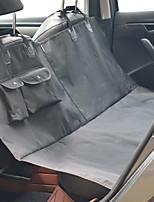 abordables -Chats Chien Matelas de voiture Animaux de Compagnie Transporteur Portable Pliable Facile à Installer réglable flexible Couleur Pleine Noir