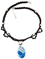 cheap -Girls' Necklace, All Seasons Viscose Hair Tie - Blue