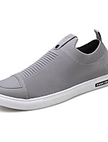 cheap -Men's Shoes Knit Spring Fall Comfort Sneakers Walking Shoes Hollow-out for Casual Black Gray Red