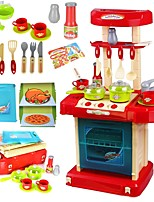 Недорогие -Игрушечная еда и всё для кухни Игрушки Семья Взаимодействие родителей и детей утонченный Пластиковый корпус Куски