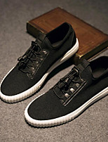 cheap -Men's Shoes Canvas Summer Comfort Sneakers for Casual White Black
