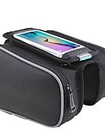 Недорогие -ROSWHEEL Велосумка/бардачок Бардачок на раму Сотовый телефон сумка Дожденепроницаемый Простота установки Со светоотражающими полосками